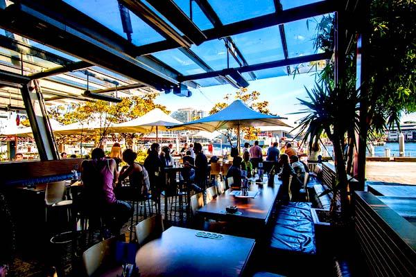 Cargo Bar - best waterfront bar Sydney