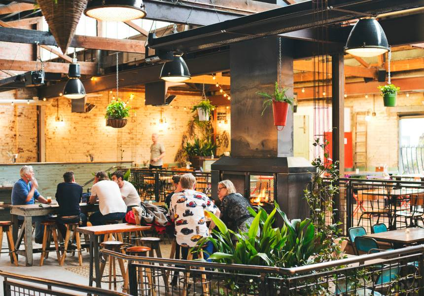 Stomping Ground Brewery & Beer Hall - Outdoor Bars Melbourne