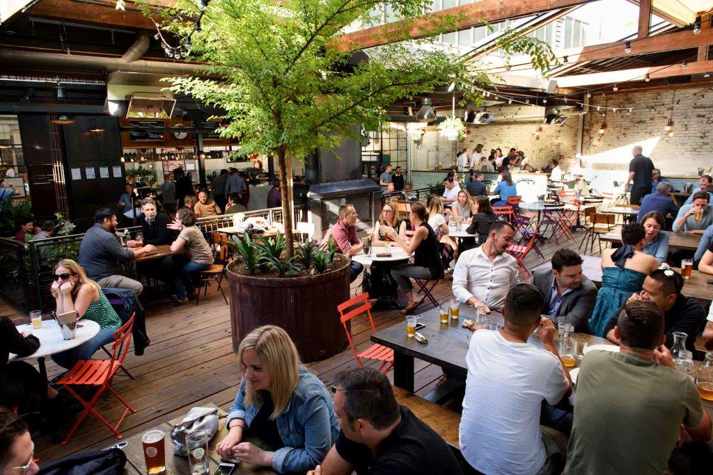 Stomping Ground Brewery & Beer Hall - Pet Friendly Bars Melbourne