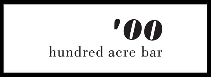 Hundred Acre Bar <br/> Best Outdoor Dining