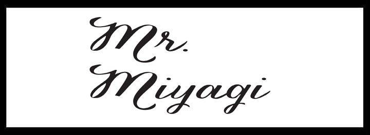 Mr Miyagi </br> Best Japanese Restaurants