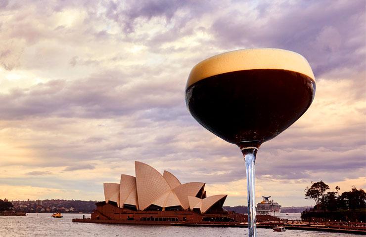 Tia maria martini cocktail largest biggest coffee liqueur sydney cbd event special coffeeday cruise bar venue guiness world records 1