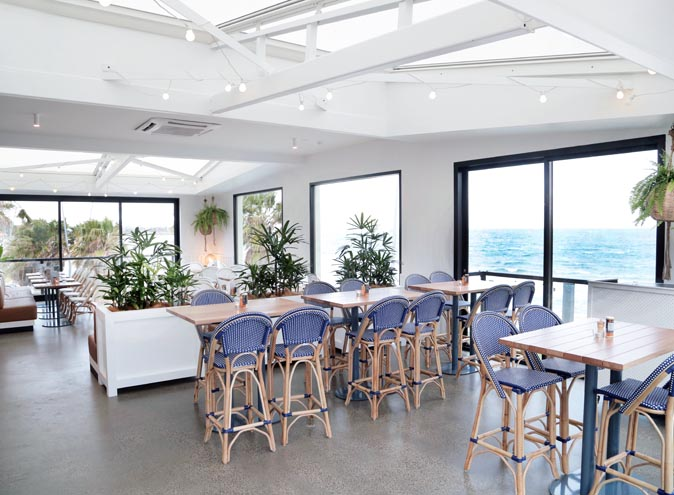 9 Captain Baxter St Kilda Melbourne Restaurant Bar Seafood Wine Seaside waterfront beach modern new open fresh best top wine fine dining ocean view views