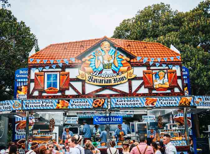 bavarian knox octoberfest brauhaus beer pretzel food drink melbourne germany october sping hidden city secrets