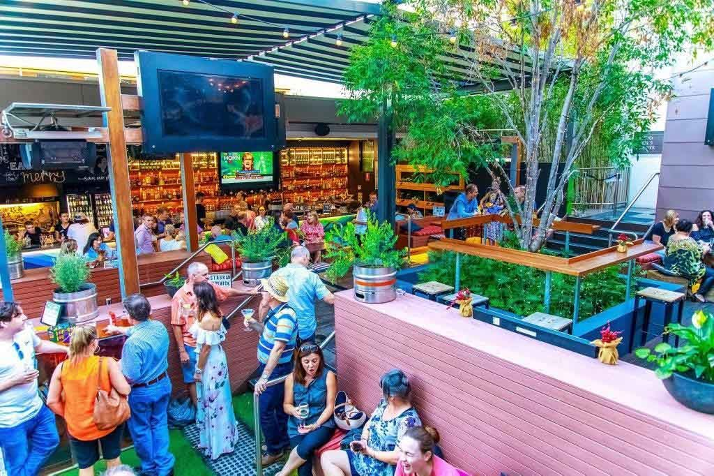 The Brunswick Hotel Restaurant CBD Restaurants Brisbane Dining Best Top Good Garden trivia Outdoor Australian 005 1024x682 1024x682