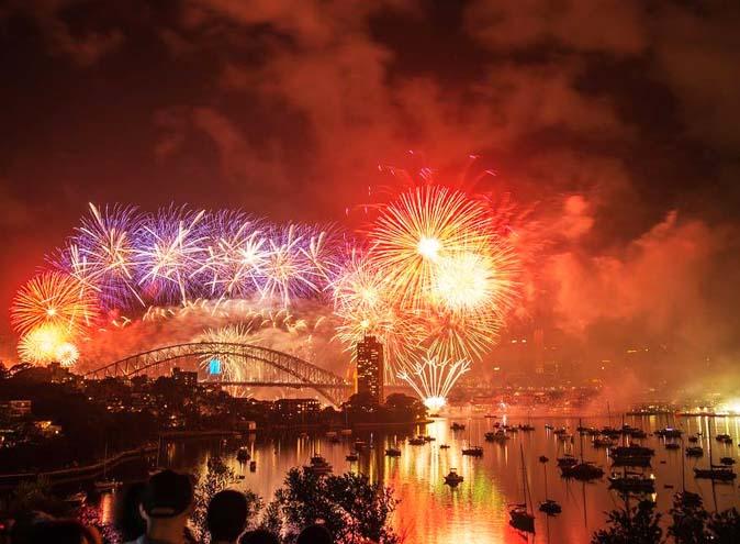 new years eve harbour bridge cruise sydney