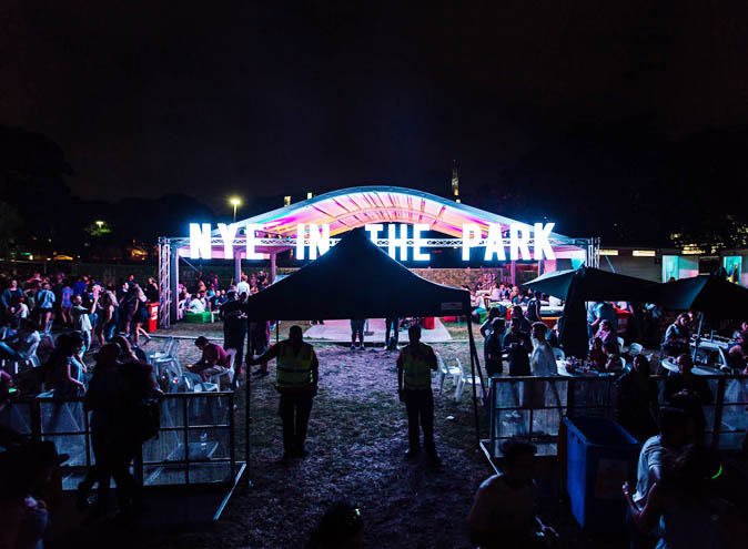 nye in the park sydney 2018 best new years parties