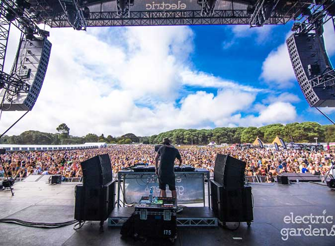 Electric Gardens Festival Sydney Centennial Parklands music electronic dance bass drums live stage fest dj producers giveaway freebies tickets 004