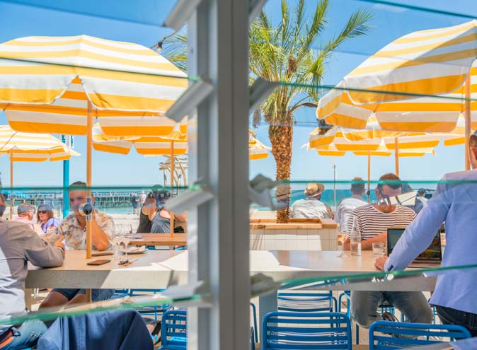Seasalt adelaide henley beach beachfront waterside waterfront view outdoor garden restaurant restaurants al fresco top groups pub pubs seafood australian 005