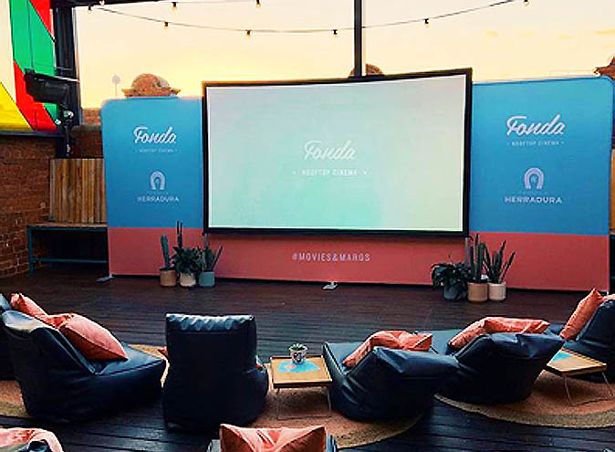 fonda rooftop cinema mexican restaurant windsor melbourne cbd tacos tequila movies film 1