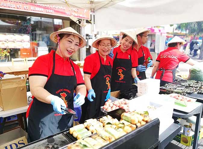 melbourne food wine festival st albans twilight market multicultural cuisine asian celebration street