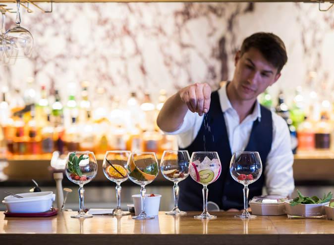 sake restaurant bar cocktails sydney double bay gin tonic japanese food drinks new flavours botanics unique creative