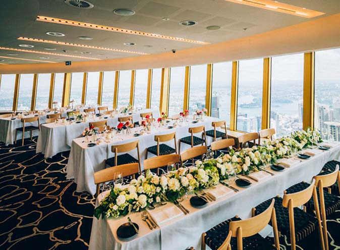 studio sydney tower function event space venue hire unique food wine weddings view tall building 6