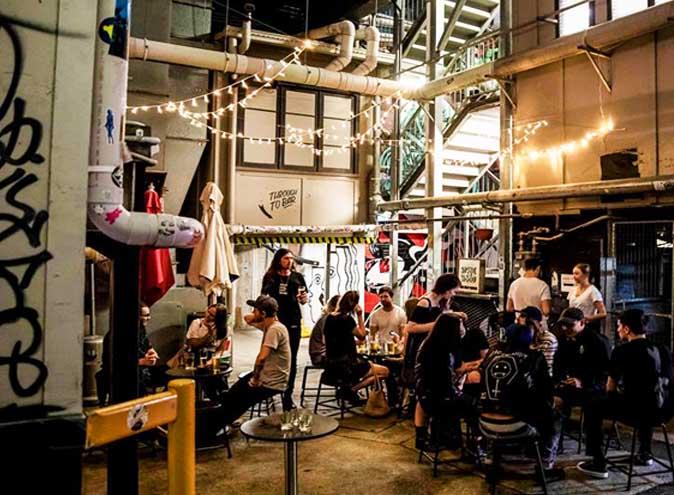 Greaser bar Brisbane city cbd underground drinks hidden beer cocktails american2 1