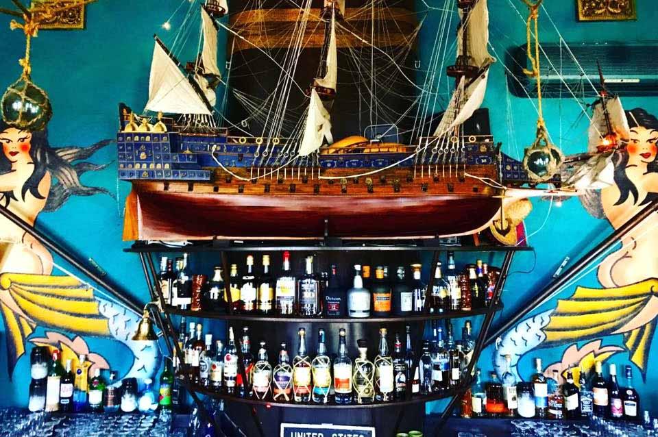 The mermaid lounge brisbane hidden bars ocean secret beer drinks cocktaikls beer wine