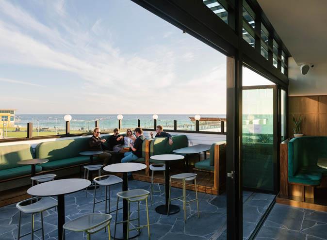 West Henley Beach Adelaide beachside waterfront rooftop outdoor view views bar bars cocktail classy fancy new hidden laneway top drinks 001