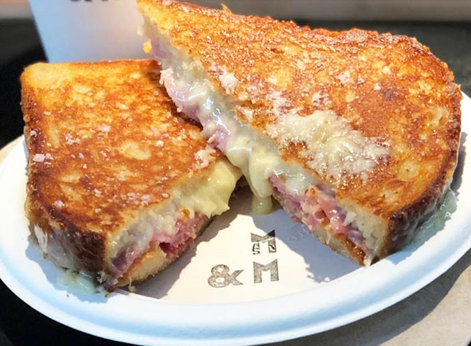 maker and monger toasted cheese jaffle melbourne prahran
