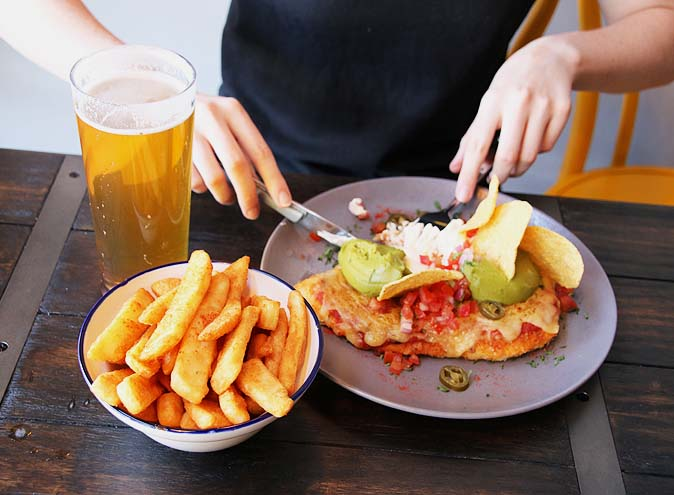 parmas and pints glenferrie road hawthorn melbourne cbd dinner drinks bar restaurant craft beer fried chicken milkshakes boozy 2