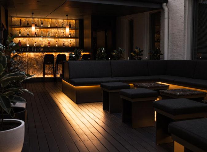 the cloakroom brisbane cbd secret bar hidden fire escape cocktails beer wine