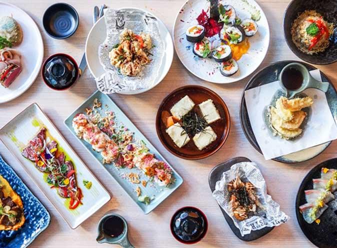 Grand Lafayette Japanese Restaurant Melbourne Prahan dining all you can eat dessert brunch dinner top best good 4