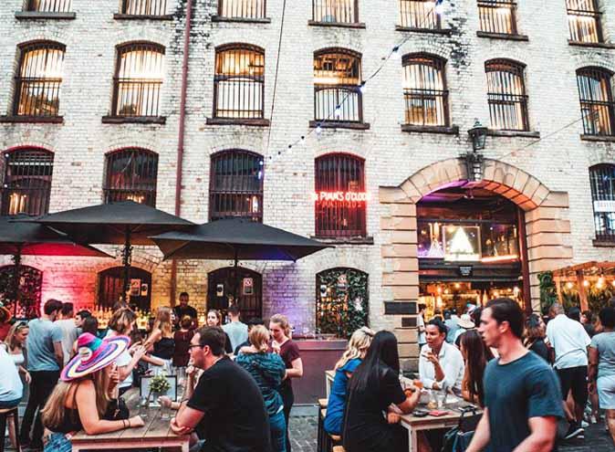 The argyle bar restaurant sydney the rock