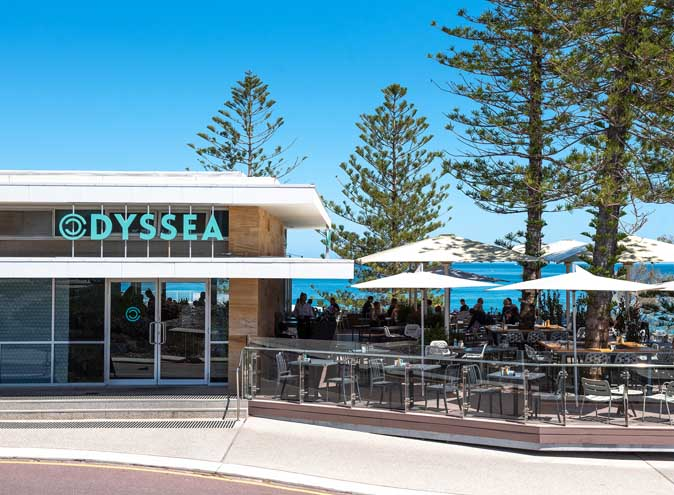 Odyssea City Beach Perth Function waterfront view fine mediterranean seafood australian middle eastern restaurant restaurants food outdoor 006