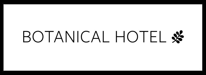 Botanical Hotel <br/> Private Dining Venues