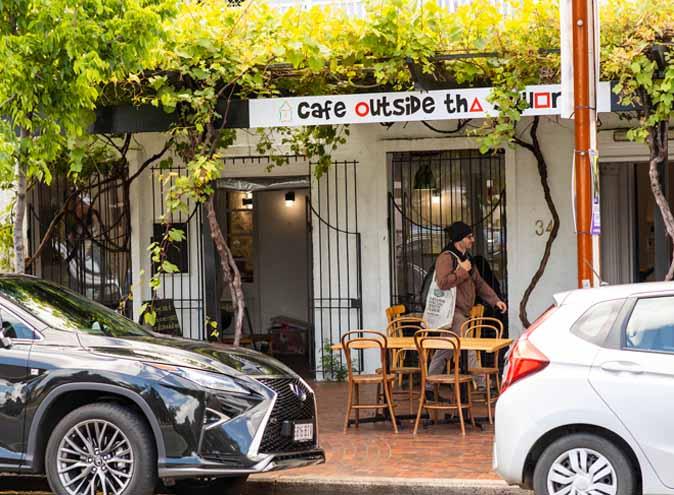 Cafe Outside Square Adelaide CBD city restaurant restaurants cafe brunch breakfast private food australian coffee pastry 009