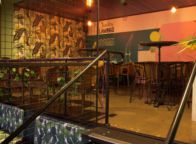 El Cheeky Flamingo Adelaide CBD bar bars outdoor cocktail drinks late date night wine 001