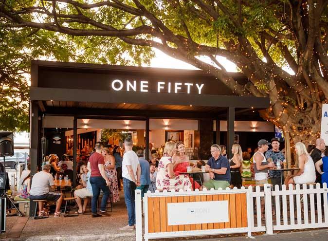 one fifty bar restaurant ascot brisbane lush tree 001