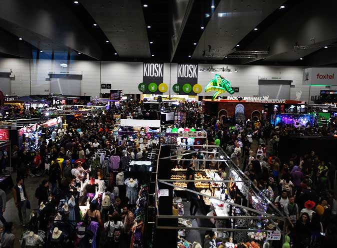 Sydney Brisbane ComicCon OZComicCon Convention Events WhatsOn Gaming Anime Manga Movies TV Shows 6