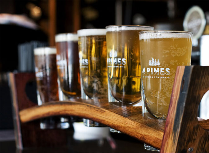 4 Pines Brewing Company Welcome To Brunswick beer beers brewery bar bars food 001