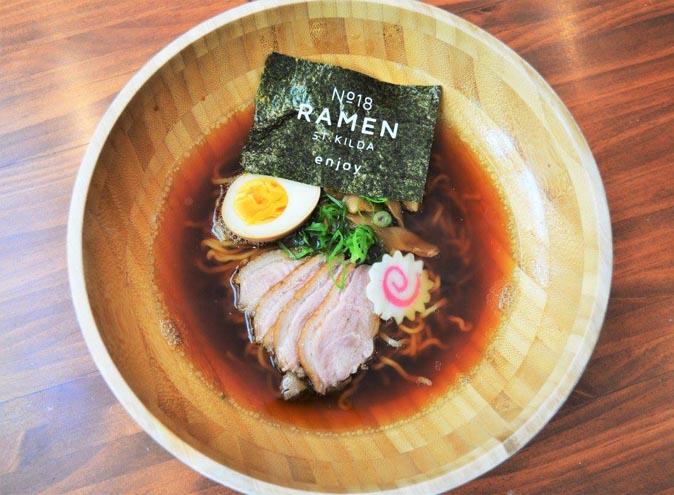 no 18 ramen stkilda st kilda japanese restaurant melbourne best top good restaurants richmond 1