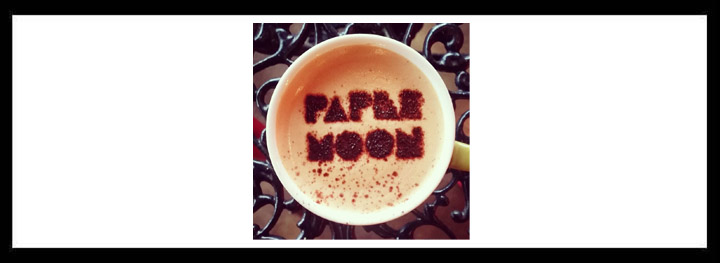 Paper Moon <br/> Cosy Coffee House