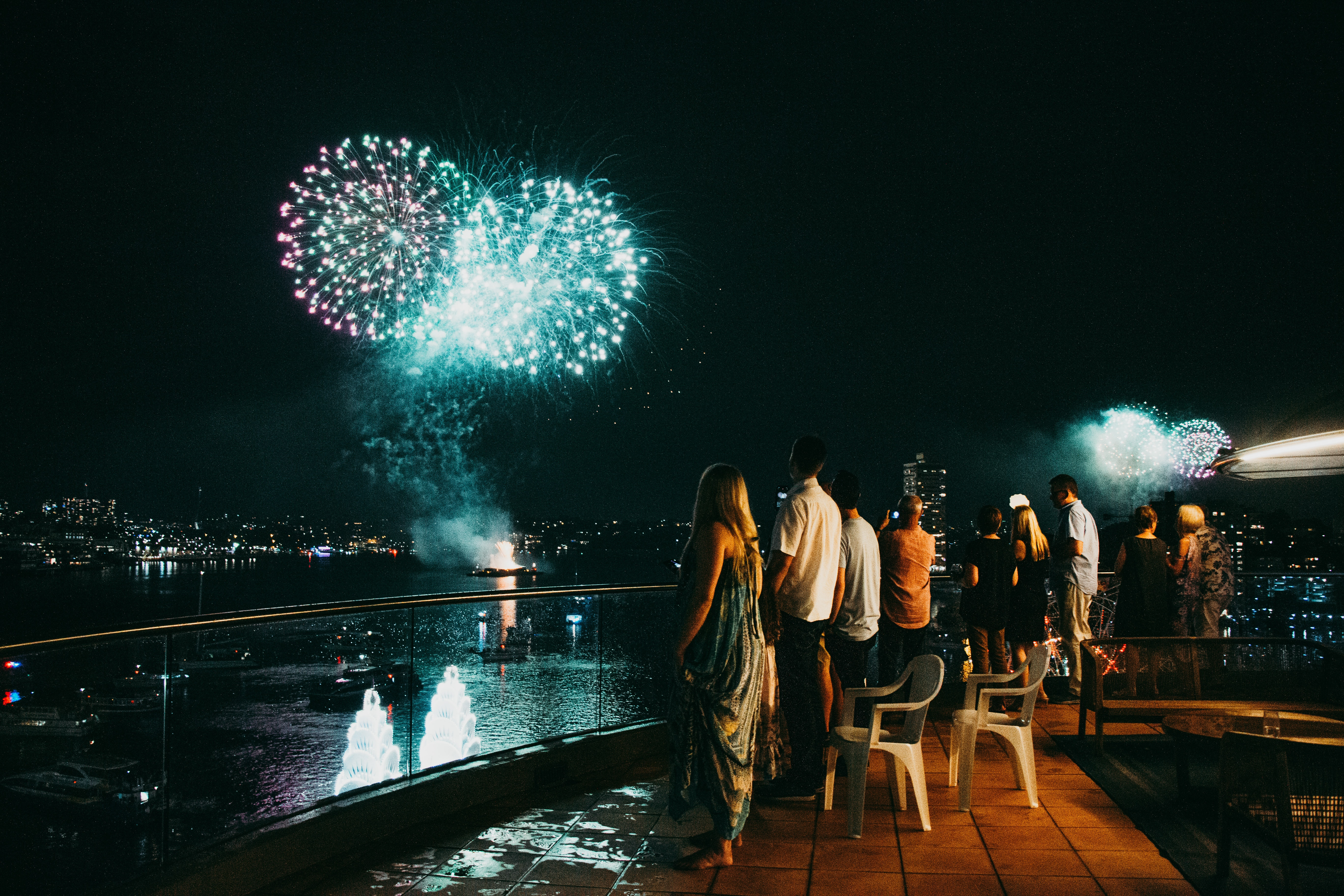 sydney nye fireworks operahouse