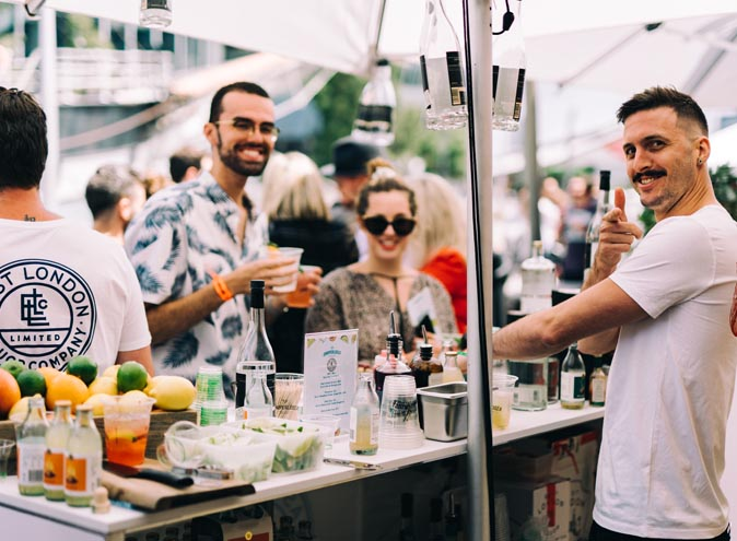 juniperlooza gin festival melbourne south wharf summer to to best top event drink drinks 3