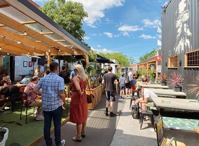 Lickety split melbourne bars restaurants footscray bar restaurant beer garden 1
