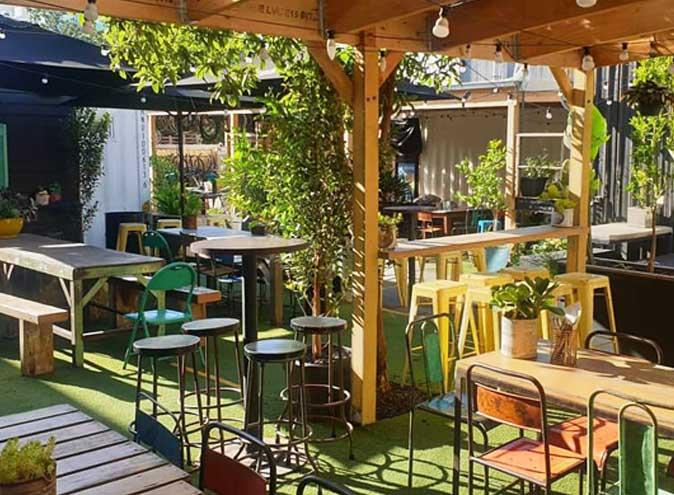 Lickety split melbourne bars restaurants footscray bar restaurant beer garden 4