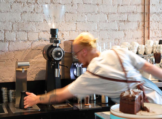 blonde food drink restaurant restaurants cafe drinks good best coffee brunswick