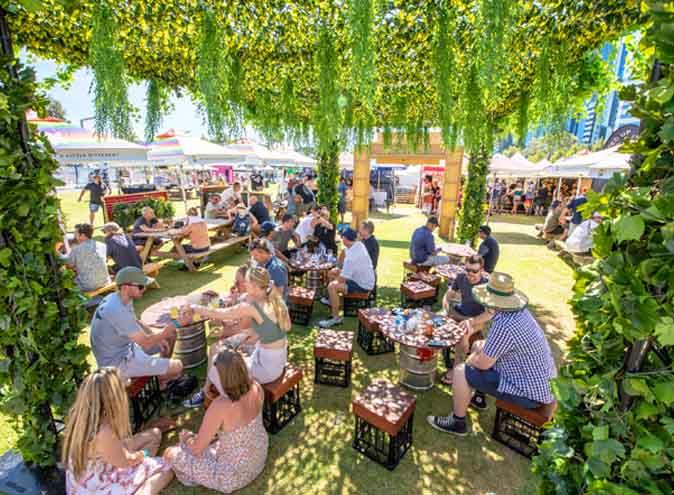 beer fest brisbane 2020 drinks cocktails sun festival music comedy fun wine food park friends 1